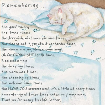 Condolence & Occasion Cards