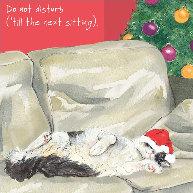 Digs&Manor Square Christmas card - Do Not Disturb