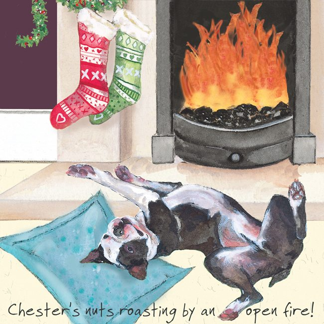 Digs&Manor Square Christmas card - Roasting