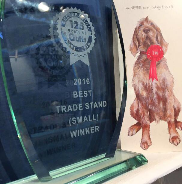 Trade Stands Crufts 2015 : The little dog a crufts winner the little dog laughed