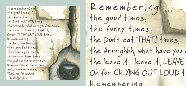 Condolence & Occasion Cards Archives - The Little Dog Laughed