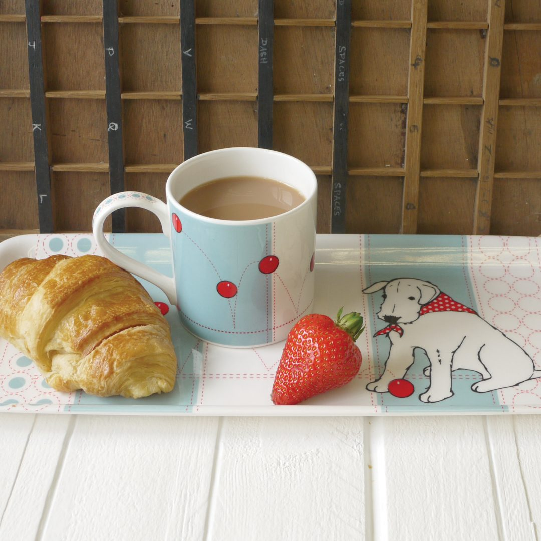 Top 20 Tea Platters: Douglas Tea Tray. Without A Doubt, The Best Way To Carry